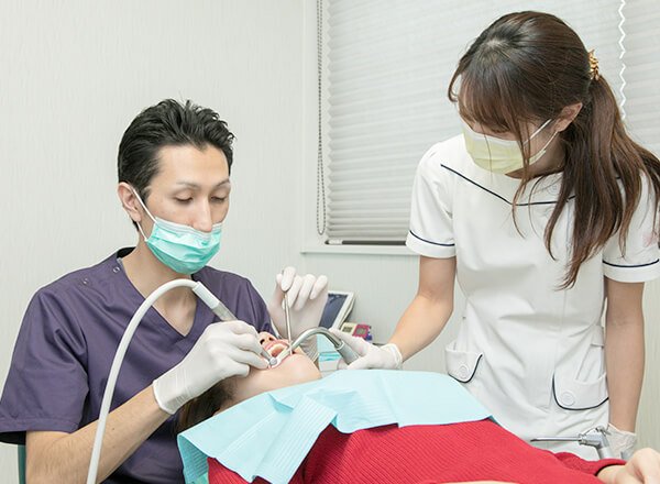 八王子レイス歯科クリニックPMTCイメージ画像